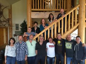 Jill and the 24-7 Prayer Boiler Room Network Team - fantastic leaders from both sides of the pond!